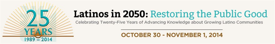 Latinos in 2050: Restoring the Public Good: Conference Logo and Banner